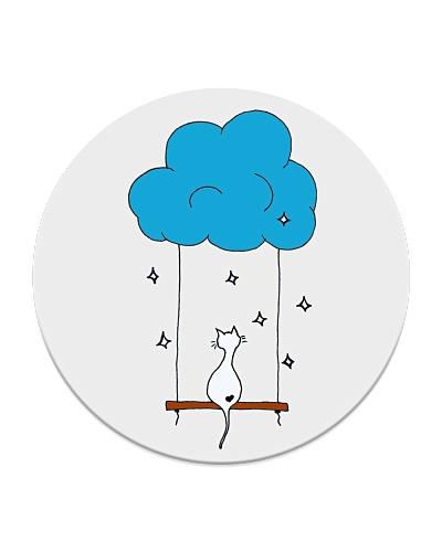 Cat Swinging in the Cloud