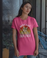 best cat dad ever Classic T-Shirt apparel-classic-tshirt-lifestyle-08