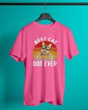 best cat dad ever Classic T-Shirt lifestyle-mens-crewneck-front-3