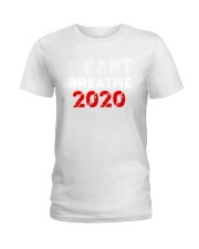i cant breathe Ladies T-Shirt tile