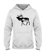 elk lovers  Hooded Sweatshirt thumbnail