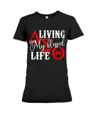 My Blessed Life Premium Fit Ladies Tee thumbnail