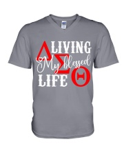 My Blessed Life V-Neck T-Shirt thumbnail