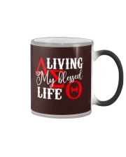 My Blessed Life Color Changing Mug thumbnail