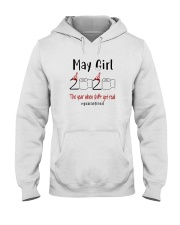 May Girl 2020 Shit Got Real Hooded Sweatshirt thumbnail