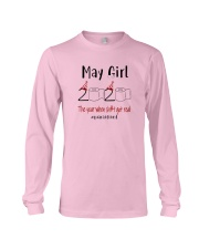 May Girl 2020 Shit Got Real Long Sleeve Tee thumbnail
