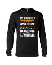 My daughter is super awesome Long Sleeve Tee thumbnail