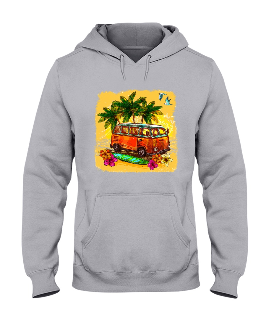 VW VAN  Summer   Hooded Sweatshirt