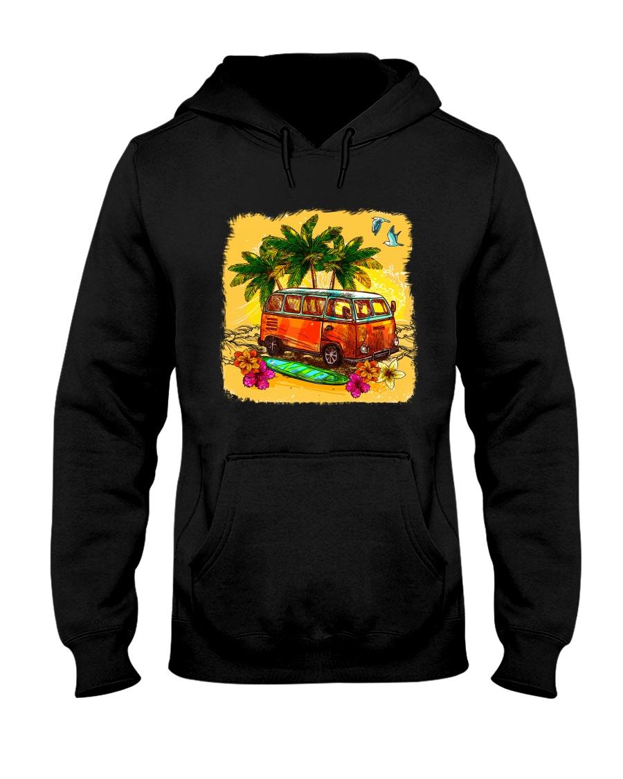 VW VAN  Summer   Hooded Sweatshirt
