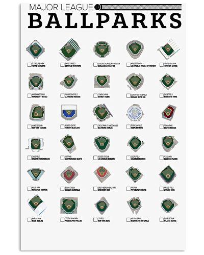 Ballpark Checklist Poster 2