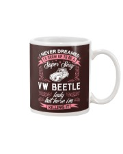 Super Sexy  VW Beetle Lady Mug thumbnail