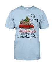 Vw Bus Santa Claus Chirstmas  Classic T-Shirt front