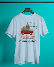 Vw Bus Santa Claus Chirstmas  Classic T-Shirt lifestyle-mens-crewneck-front-3