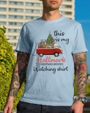 Vw Bus Santa Claus Chirstmas  Classic T-Shirt lifestyle-mens-crewneck-front-8