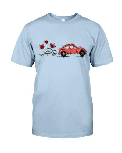VW BEETLE FLOWER