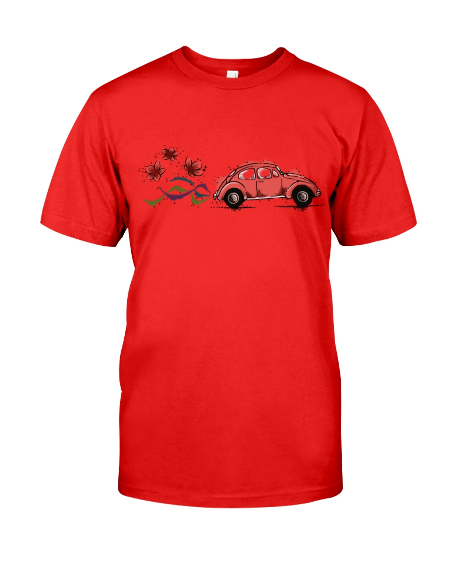 VW BEETLE FLOWER  Classic T-Shirt