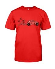 VW BEETLE FLOWER  Classic T-Shirt front