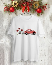 VW BEETLE FLOWER  Classic T-Shirt lifestyle-holiday-crewneck-front-2