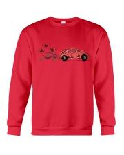 VW BEETLE FLOWER  Crewneck Sweatshirt front