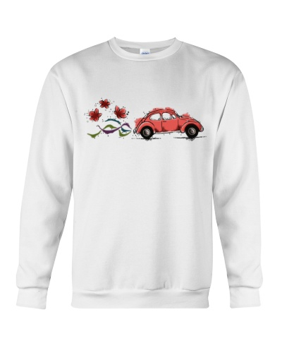 VW BEETLE FLOWER