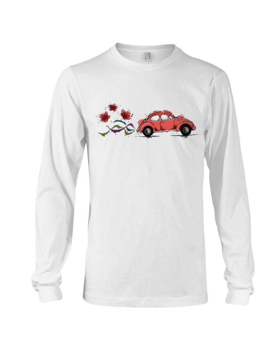 VW BEETLE FLOWER  Long Sleeve Tee