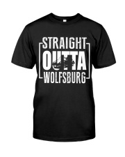 Straight Outta Wolfsburg Beetle Classic T-Shirt front