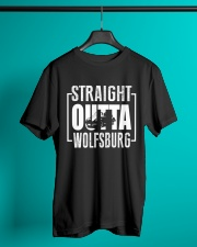 Straight Outta Wolfsburg Beetle Classic T-Shirt lifestyle-mens-crewneck-front-3