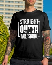 Straight Outta Wolfsburg Beetle Classic T-Shirt lifestyle-mens-crewneck-front-8