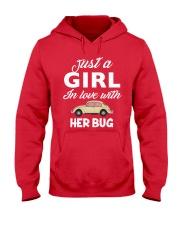 HER BUG Hooded Sweatshirt front