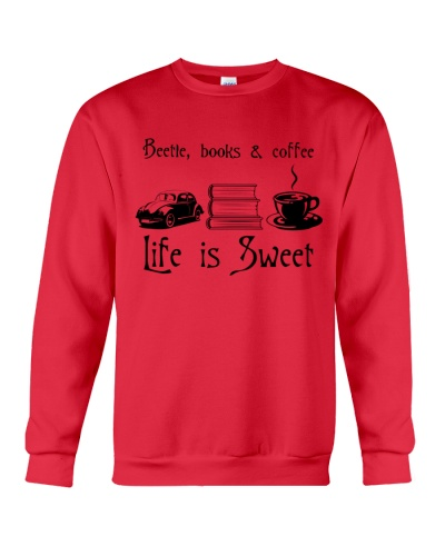 BEETLE BOOK AND COFFEE