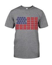VW BUS Flag Classic T-Shirt front