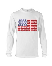 VW BUS Flag Long Sleeve Tee front