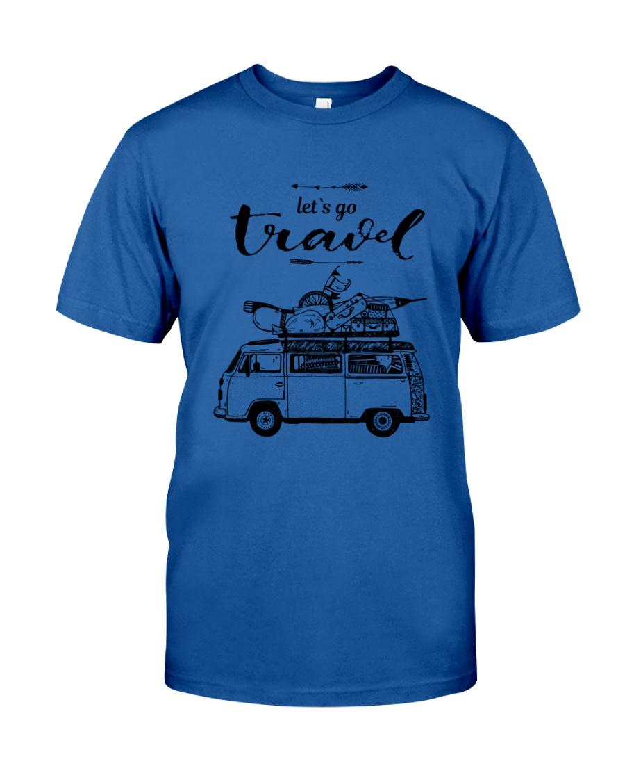 Let's Go Travel  Classic T-Shirt