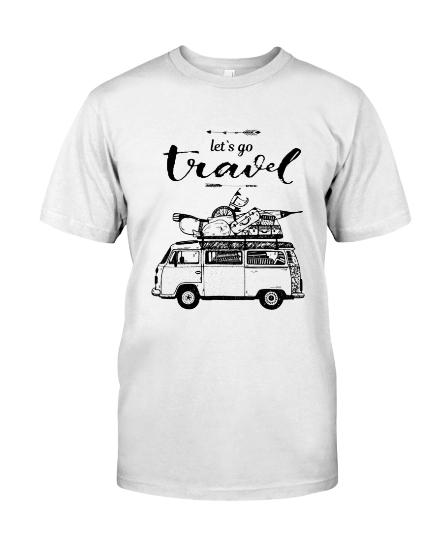 Let's Go Travel  Classic T-Shirt