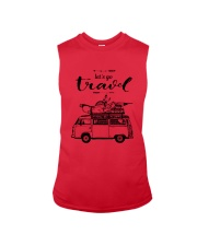 Let's Go Travel  Sleeveless Tee front