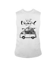 Let's Go Travel  Sleeveless Tee thumbnail
