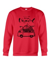 Let's Go Travel  Crewneck Sweatshirt front