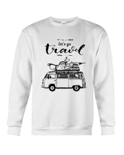 Let's Go Travel  Crewneck Sweatshirt thumbnail