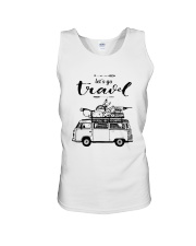 Let's Go Travel  Unisex Tank thumbnail