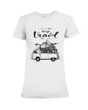 Let's Go Travel  Premium Fit Ladies Tee thumbnail