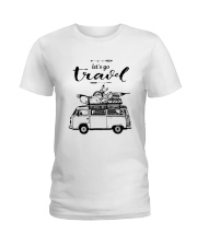 Let's Go Travel  Ladies T-Shirt thumbnail