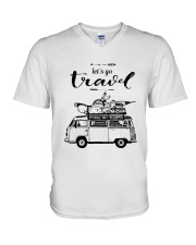 Let's Go Travel  V-Neck T-Shirt thumbnail