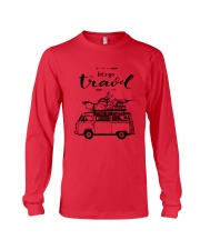 Let's Go Travel  Long Sleeve Tee front