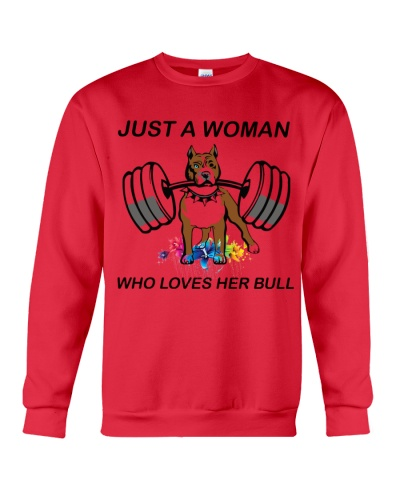 JUST A WOMAN WHO LOVES BULL