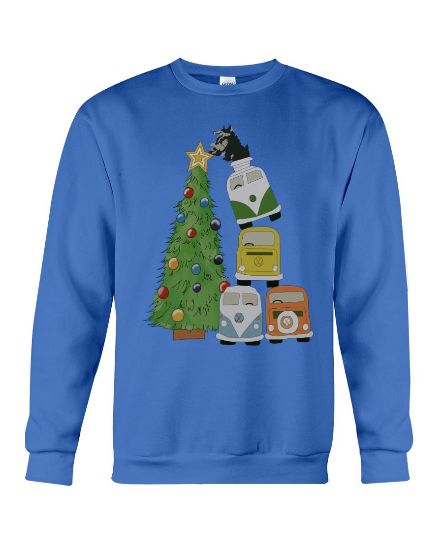 VW BUS  Tree Crewneck Sweatshirt