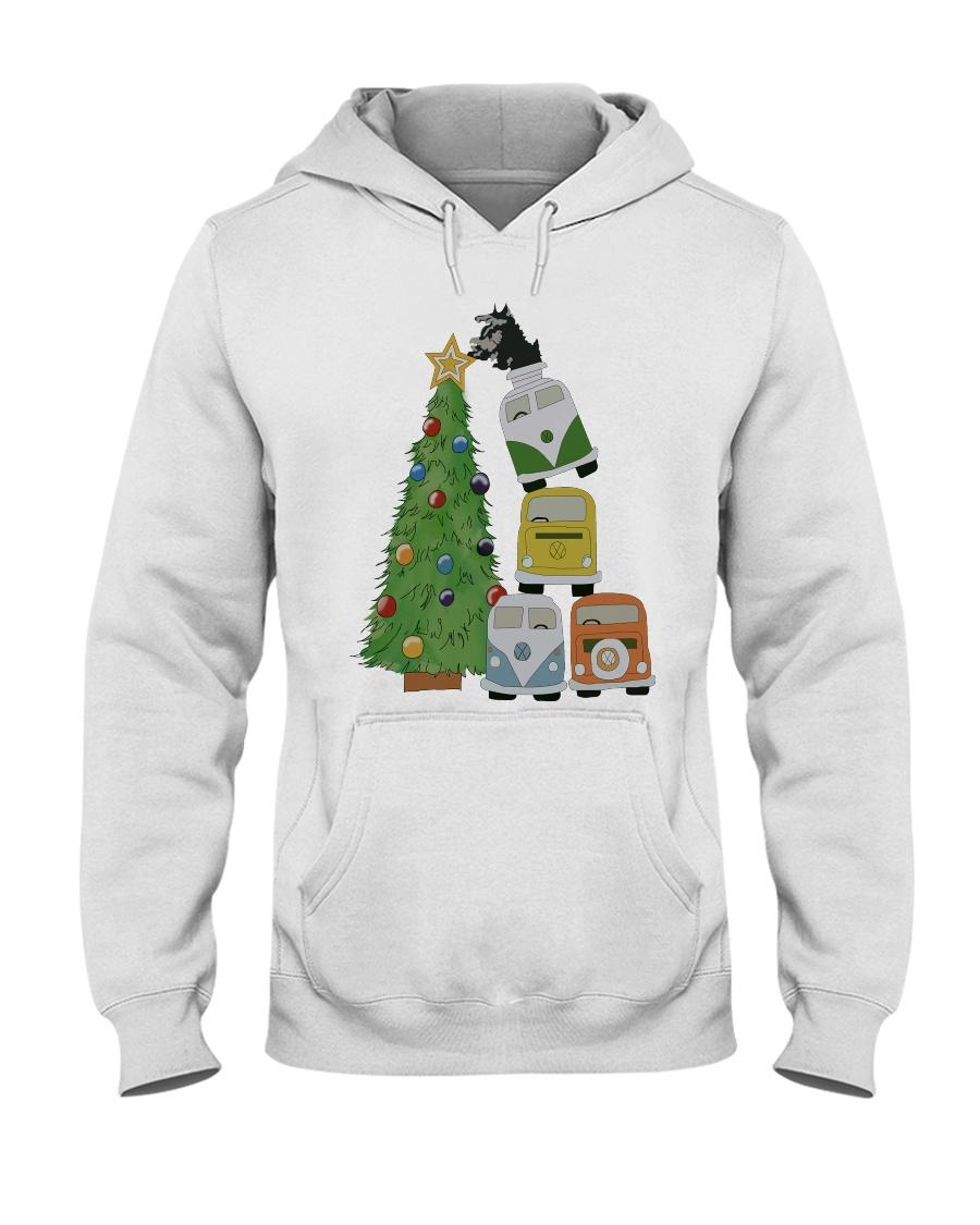 VW BUS  Tree Hooded Sweatshirt