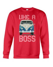 Like A Boss Crewneck Sweatshirt front