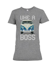 Like A Boss Premium Fit Ladies Tee thumbnail