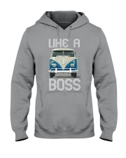 Like A Boss Hooded Sweatshirt thumbnail