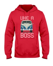 Like A Boss Hooded Sweatshirt front